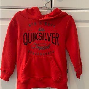Toddler boys quicksilver hoodie